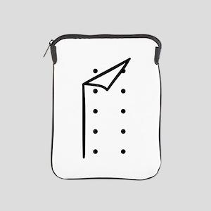 Chef uniform iPad Sleeve