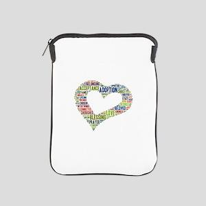 heart fulfilled iPad Sleeve