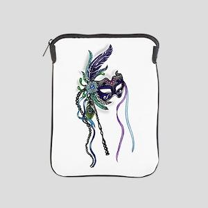 Decorative Mardi Gras Mask iPad Sleeve