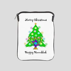 Christmas Hanukkah Interfaith iPad Sleeve