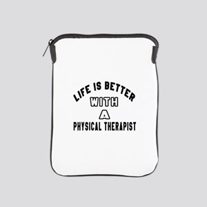 Physical Therapist Designs iPad Sleeve