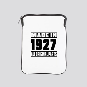 Made In 1927 iPad Sleeve