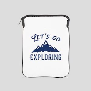 Let's Go Exploring iPad Sleeve