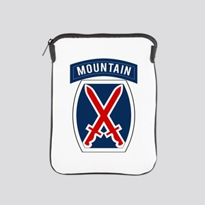 10th Mountain iPad Sleeve