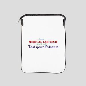 I am a Lab Tech iPad Sleeve