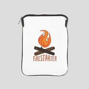 Firestarter Campfire iPad Sleeve