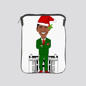barack obama santa claus iPad Sleeve