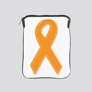 Orange Aware Ribbon iPad Sleeve
