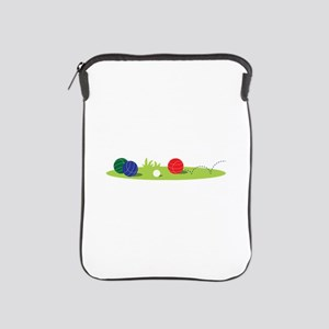 Bocce Ball Game iPad Sleeve
