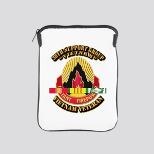 38th Support Group w SVC Ribbon iPad Sleeve