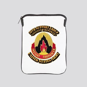 38th Support Group with Text iPad Sleeve