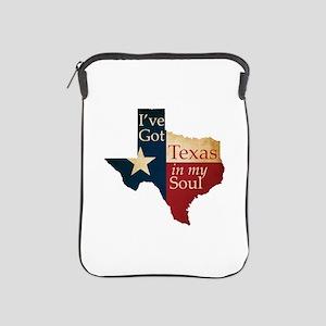 Texas in my Soul iPad Sleeve
