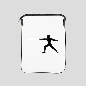 Guy Fencer iPad Sleeve