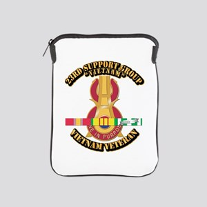 Army - 23rd Support Group w SVC Ribbon iPad Sleeve