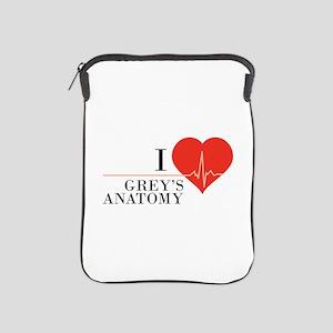 I love grey's anatomy iPad Sleeve