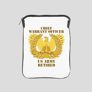 Army - Emblem - CWO Retired iPad Sleeve