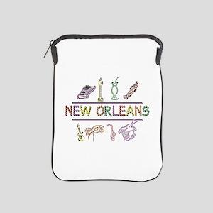 New Orleans Mardi Gras iPad Sleeve