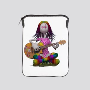 Hippy Chick ~ Peace and Love iPad Sleeve