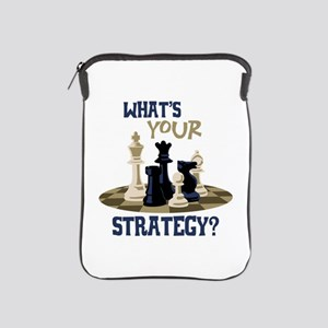 WHATS YOUR STRATEGY? iPad Sleeve