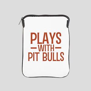 PLAYS Pit Bulls iPad Sleeve
