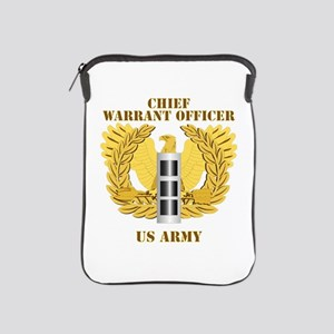 Army - Emblem - Warrant Officer CW3 iPad Sleeve