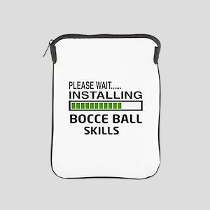 Please wait, Installing Bocce ball Ski iPad Sleeve