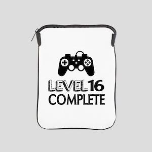 Level 16 Complete Birthday Designs iPad Sleeve