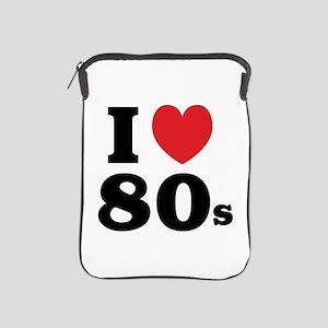 I Heart 80s iPad Sleeve