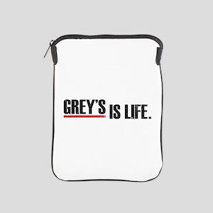 Grey's is life iPad Sleeve