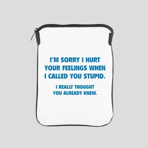 I'm Sorry iPad Sleeve