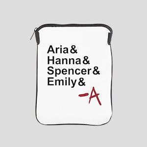 Aria & Hanna & Spencer & Emily & A iPad Sleeve