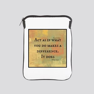 You Make a Difference iPad Sleeve