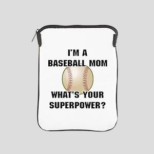 Baseball Mom Superhero iPad Sleeve