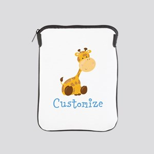 Custom Baby Giraffe iPad Sleeve