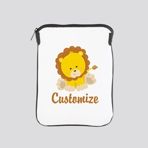 Custom Baby Lion iPad Sleeve