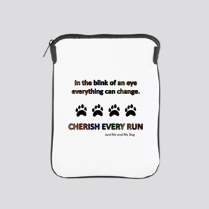 Cherish Every Run iPad Sleeve