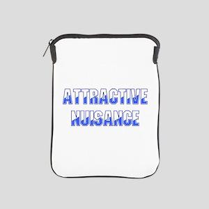 Attractive Nuisance (Blue) iPad Sleeve