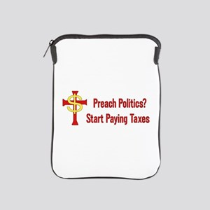 Tax The Churches iPad Sleeve
