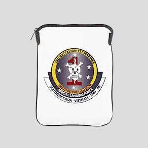 SSI - 3rd Battalion - 1st Marines USMC iPad Sleeve