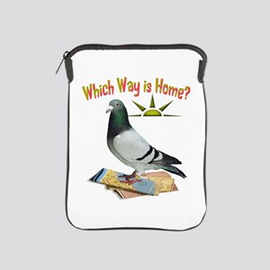 Which Way Is Home? Fun Lost Pigeon Art Ipad Sleeve
