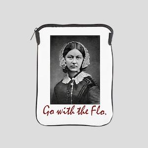 Go With Florence Nightingale! Ipad Sleeve