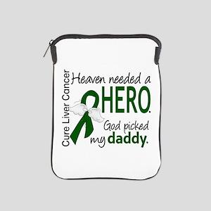 Liver Cancer HeavenNeededHero1 iPad Sleeve