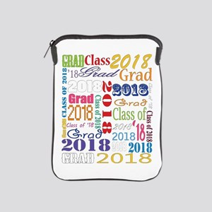 2018 Graduation Typography iPad Sleeve