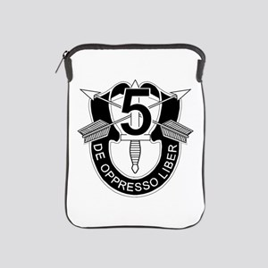 5th Special Forces - DUI - No Txt iPad Sleeve