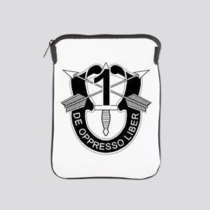 1st Special Forces - DUI - No Txt iPad Sleeve