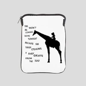 Giraffenapping iPad Sleeve