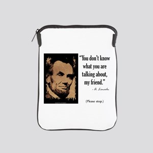 You Don't Know iPad Sleeve