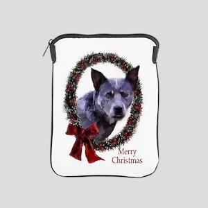 Australian Cattle Dog Christmas iPad Sleeve