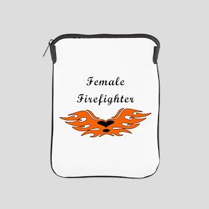 Female Firefighter iPad Sleeve