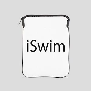 iSwim (Swimmer) iPad Sleeve